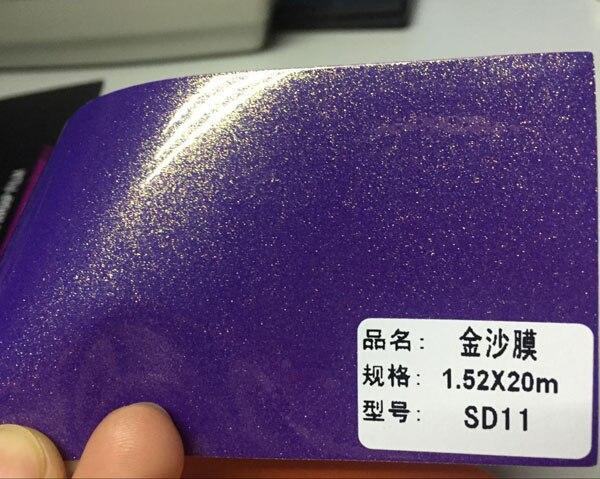 10/20 Вт, 30 Вт/40/50/60x152 см Тиффани синий Жемчужный Блеск виниловые наклейки для оклеивания авто с эффектом хромирования наклейки на автомобиль для укладки волос золотого песка пленка жемчуг с запахом - Название цвета: purple