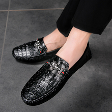 Leather Men Casual Shoes High Quality Soft Mens Loafers Moccasins  Fashion Driving Shoes Luxury Casual Shoes   5