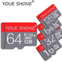 Neueste klasse 10 micro sd karte 8 GB 16 GB 32 GB 64 GB 128 GB SDXC/SDHC Flash microsd speicher Karte 32 gb sdcard für smartphone/kamera