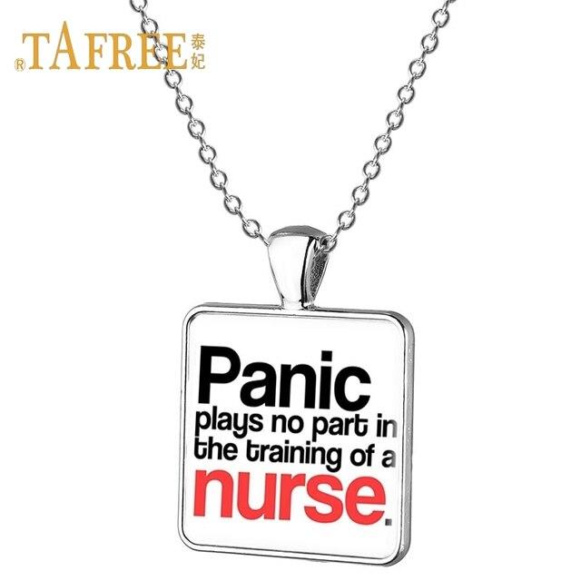 TAFREE Glass Picture Pendant Nurses angeles best thing ...