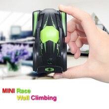 Fun Mini rc car toys for children child Electric radio remote control Climbing  Wall  stunt car indoor birthday gift