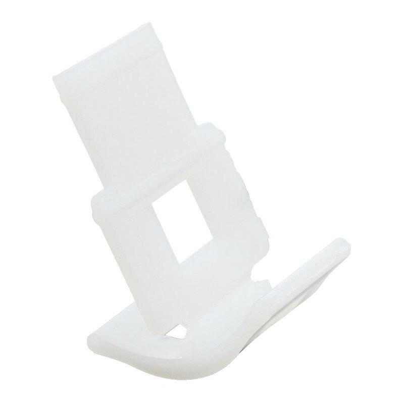 Wholesale price 100pcs Plastic Tile Leveling System Clip Tile Spacer Accessories Floor Leveler base transparent white Tile Grout spta 14pcs tile carbide