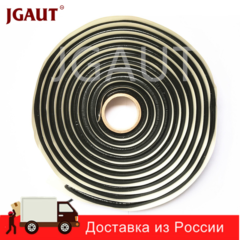 JGAUT 4 Meter Hitam BUTYL RUBBER GLUE HEADLIGHT RETROFIT SEALANT Reseal Auto HID Led Headlamps TAILLIGHT Shield Tapes