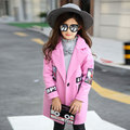 Garment Girl Loose Coat Autumn And Winter Dress 2016 New Pattern In Will Tong Hanban Long Fund Book Mark Overcoat Loose Coat