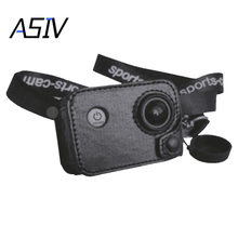 180 Degree Rotation Sports Action Camera Multifunction Protection Case Leather Cover for Sjcam SJ4000/ SJ5000/ SJ6000/ SJ7000