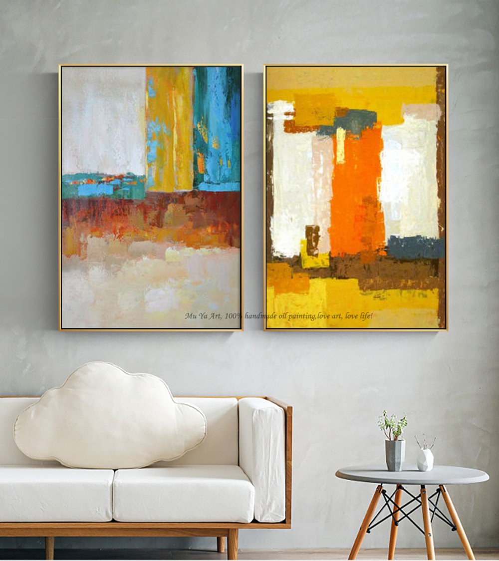 Muya Abstract Painting Large Canvas Wall Art Tableau Decoration Murale Salon Wall Pictures For Living Room Modern Oil Painting Picture For Living Room Wall Picturesabstract Painting Aliexpress