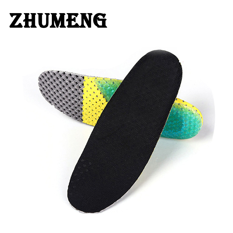 ZHUMENG 2017 Men and Women Gel Varnishes Shocker Insoles Orthotic Insole Silicone Mat Heel Pain Insole Gel Nails Soles for Shoes unisex silicone insole orthotic arch support sport shoes pad free size plantillas gel insoles insert cushion for men women xd 01