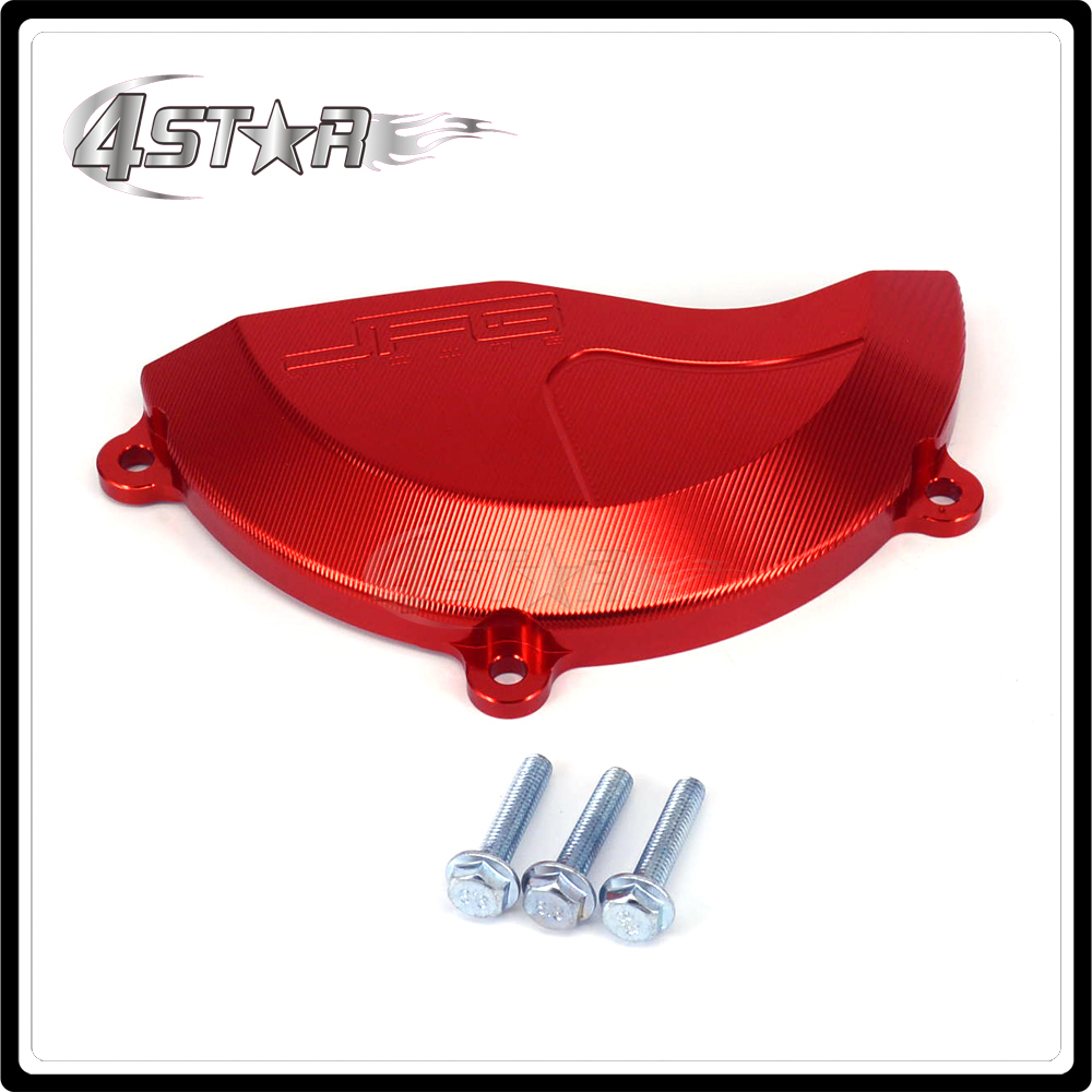 Motorcycle Right Engine Stator Cover Guard For HONDA CRF450R CRF 450R CRF450 R 2009 2010 2011 2012 2013 2014 2015 2016 Aluminum fit for honda cbr1000rr cbr1000 2008 2009 2010 2011 2012 2013 2014 motorcycle engine stator cover see through chrome lefe side