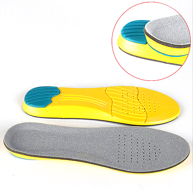 Shoe Inserts Pad Soft Sport Insoles Memory Foam Breathable Silicone Gel Cushion Orthopedic Insoles Foot Care