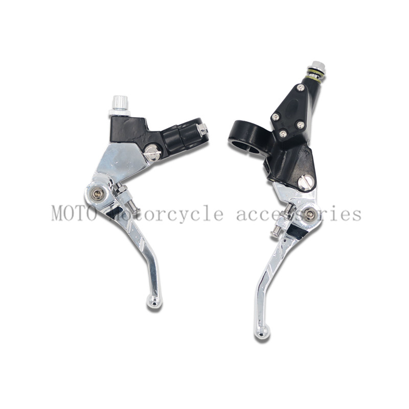 Modified Dirt Bike 7/8 Clutch lever mirror seat Horns Hydraulic brake Master Cylinder For XR AX-1 KLX KDX CRM 8mm Tubing screw