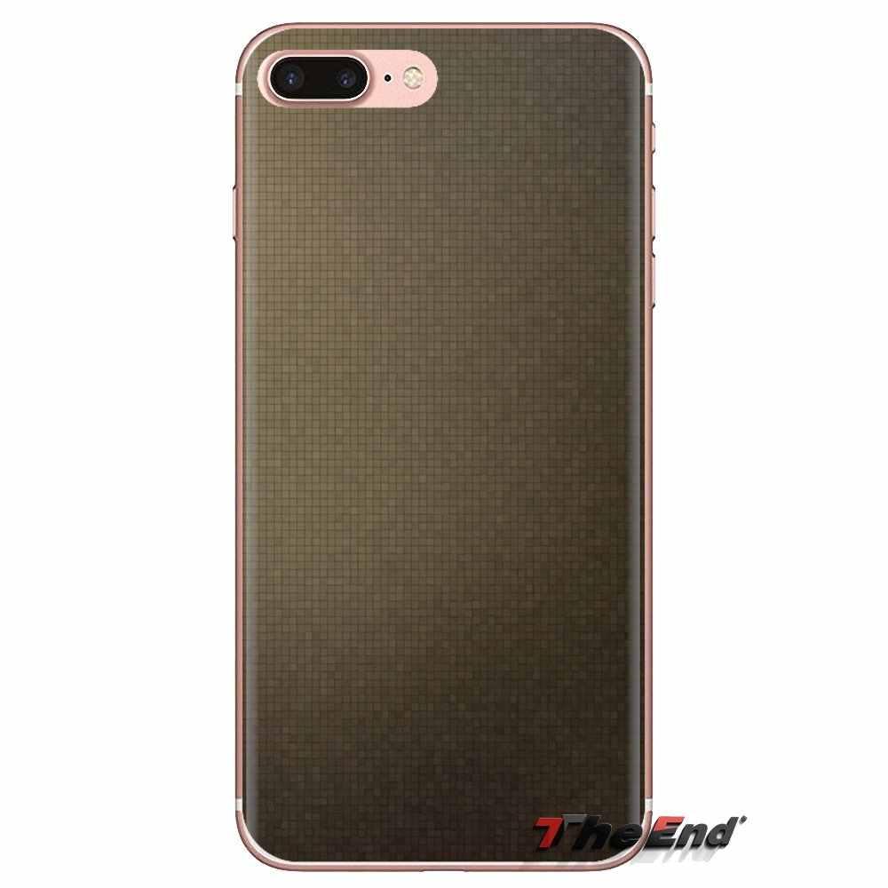 Texturas píxeles para iPod Touch Apple iPhone 4 4S 5 5S SE 5C 6 6 S 7 7 8 X XR fundas suaves transparentes XS Plus MAX