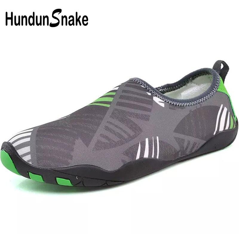 Hundunsnake Quick-Drying Men Shoes For Beach Sneakers Children Kids Water Shoes Aqua Barefoot Shoes Women Slipony Sea Surf T509