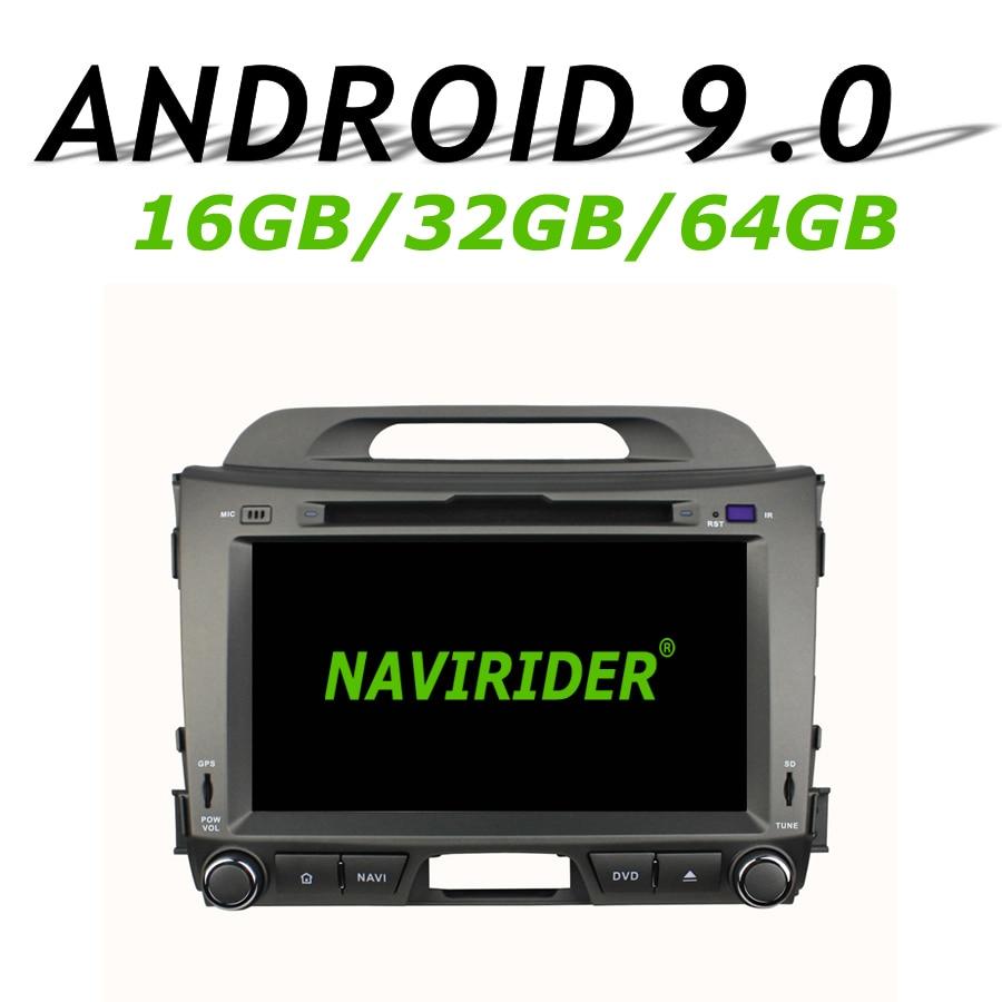 Alta configurazione Octa Core Android 9.0 di GPS Dellautomobile Per KIA Sportage 2010-2012 di navigazione per Auto Radio bluetooth 64 GB di memoria di grandi dimensioniAlta configurazione Octa Core Android 9.0 di GPS Dellautomobile Per KIA Sportage 2010-2012 di navigazione per Auto Radio bluetooth 64 GB di memoria di grandi dimensioni