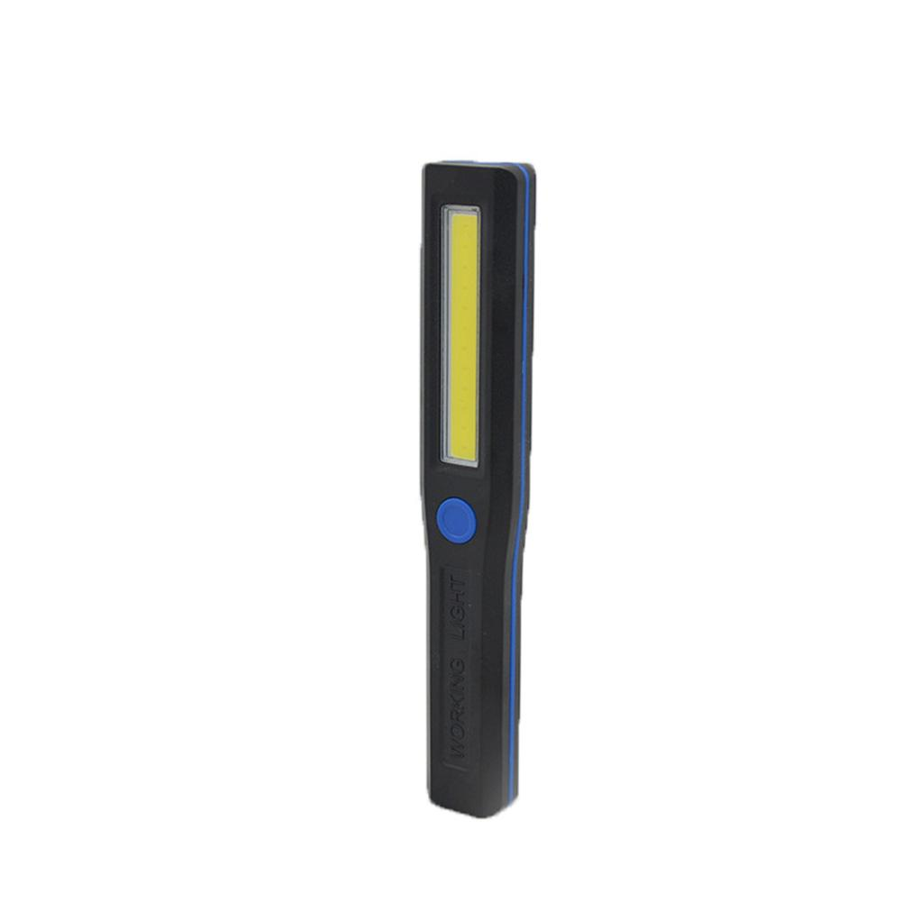 Portable Led Flashlight COB Led Work Light Handheld LED Inspection Light Magnetic Bottom Emergency Lights For Camping Car Repair