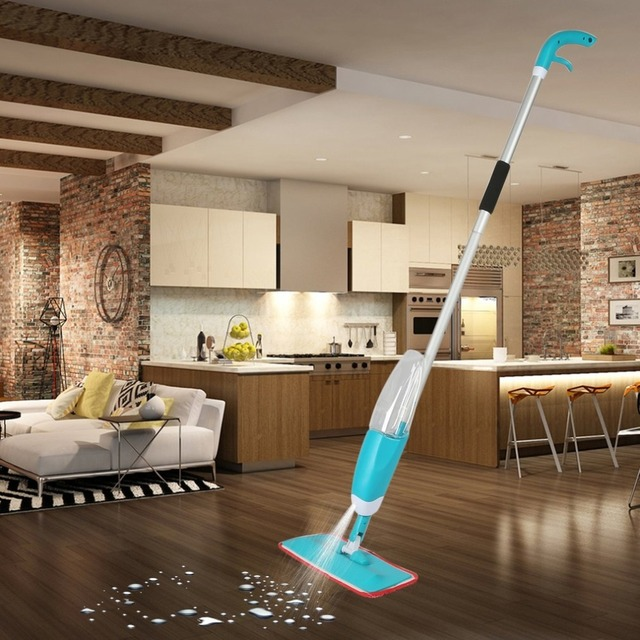 Russian Warehouse Handheld Water-spraying Mop Spray Mop Household Cleaning For Various Kind Of Floor Cleaner Tools Fast Shipping