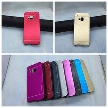 Алюминий + Пластик Жесткий Футляр для HTC One M9 Гибридный Тонкий доспехи Случаи Роскошные Металл Матовый Телефон Оболочки Ультра Тонкий Обложка мешки