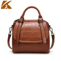 2018 Vintage Fashion Crocodile Pattern Crossbody Bags For Women Alligator Leather Handbags Large Capacity Tote Bags