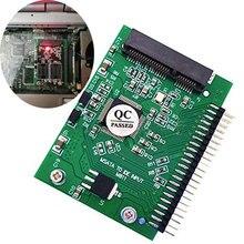 "Ingelon msata adapter sata Mini pcle SSD do ide 2.5 ""5 V 44Pin SSD karta do konwertera HDD ATA CD DVD adapter do laptopa Dropship"