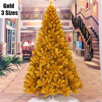 4 Sizes Santa Claus Tree PVC Material Gold Christmas Tree XMAS Party Decoration Christmas Tree MCC252-257 - DISCOUNT ITEM  18% OFF All Category