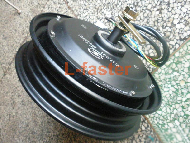 Buy 72v 1000w electric brushless hub for Electric scooter brushless motor