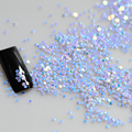 2g Blue Color Mini Round Thin 3d Color Nail Art Glitter Decoration Sparkly  Paillette Nail Tips Shinning Design Y02