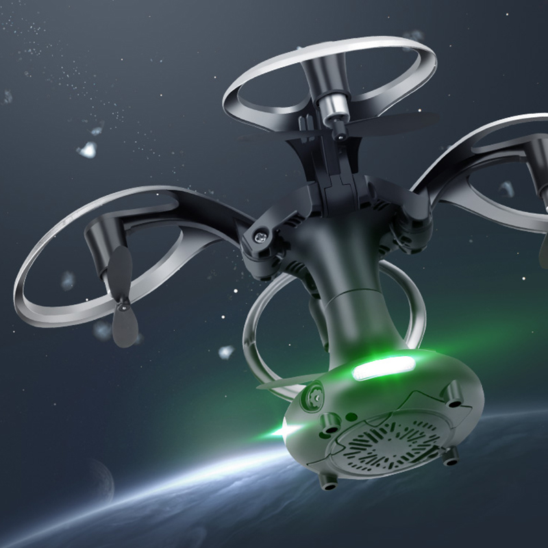 Foldable Mini Pocket 2.4G UFO RC Ball Shaped Quadcopter RC Drone Dron WiFi FPV Camera Flying Remote Control Helicopter Toy yc folding mini rc drone fpv wifi 500w hd camera remote control kids toys quadcopter helicopter aircraft toy kid air plane gift