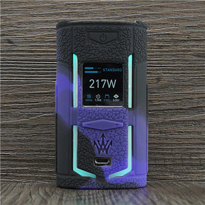 Image 2 - Texture Case for VooPoo X217 217W TC Box Mod Protective Silicone Sleeve Cover Wrap fit VOOPOO Woody Vapes X 217