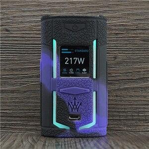 Image 2 - Textuur Case Voor Voopoo X217 217W Tc Doos Mod Beschermende Siliconen Sleeve Cover Wrap Fit Voopoo Woody Vapes X 217