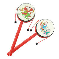 Children S Toys Wholesale Lucky Baby Rattle Hand Drum Infant Early Education Toys Wholesale Puzzle 0