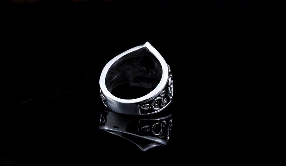 แหวนโคตรเท่ห์ Code 023 แหวนดาวห้าแฉก สแตนเลส13