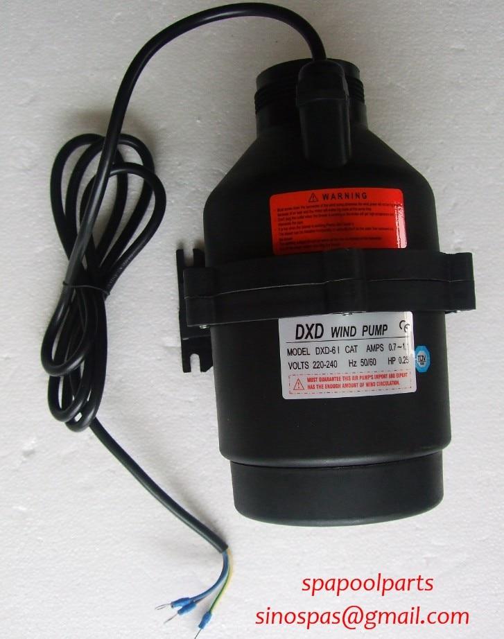 DXD-6I 0.25HP Wind Air Pump 200W 220V/50HZ  Hot Tub  Spa  Whirlpool Bath