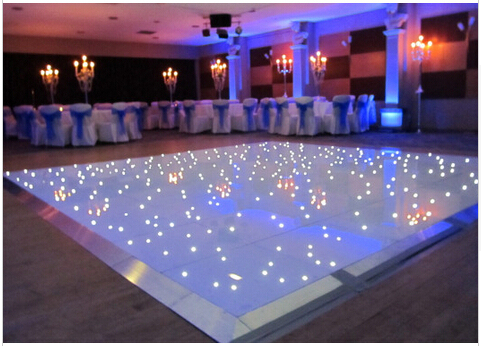 Led Dance Floor 8x8 Feets Stage Dance Floor White Lighted