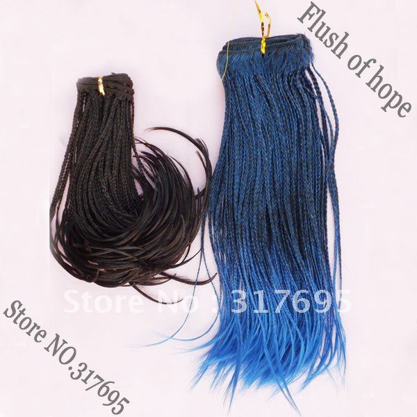 Free Shipping Janet Micro Braid Hair Extensions Wavy Synthetic Hair