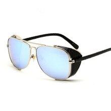 New European and American metal big box retro sunglasses sunglasses toad glasses high-end fashion eyewear
