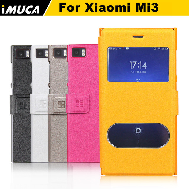 timeless design 114a9 30743 US $10.64 |for xiaomi mi3 flip case cover luxury leather cases for xiaomi  mi3 m3 vertical case back cover iMUCA Brand skin shell-in Flip Cases from  ...