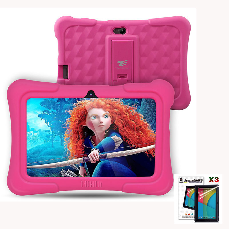 Dragon Touch Y88X Plus 7 inch Kids Tablet pcs Quad Core Android 5.1 + Screen Protector Best gifts for children