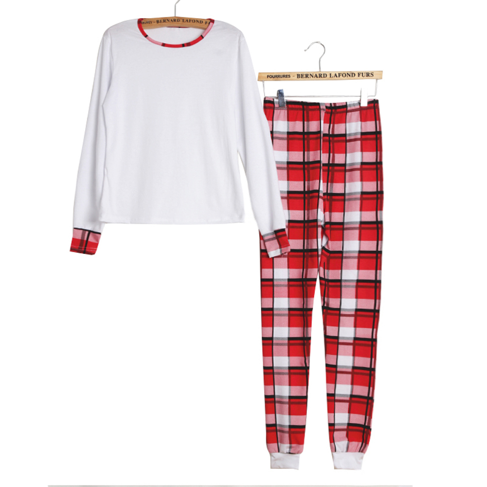 Xmas Baby Mom Family Christmas Women Kids Pajamas Sleepwear Nightwear