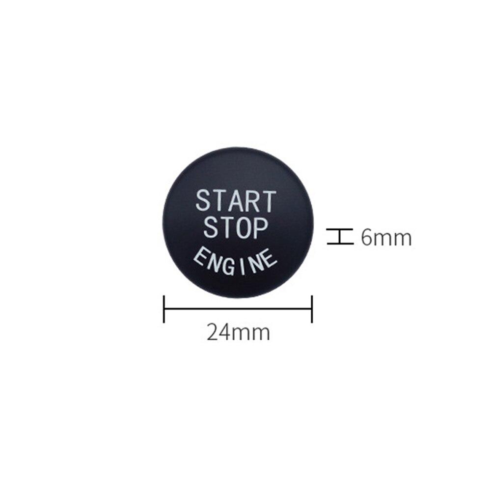 Автомобильный двигатель старт/стоп кнопка включения Замена Крышка для BMW 1 3 5 серии E87 E90/E91/E92/E93 E60 X1 E84 X3 E83 X5 E70 X6 E71