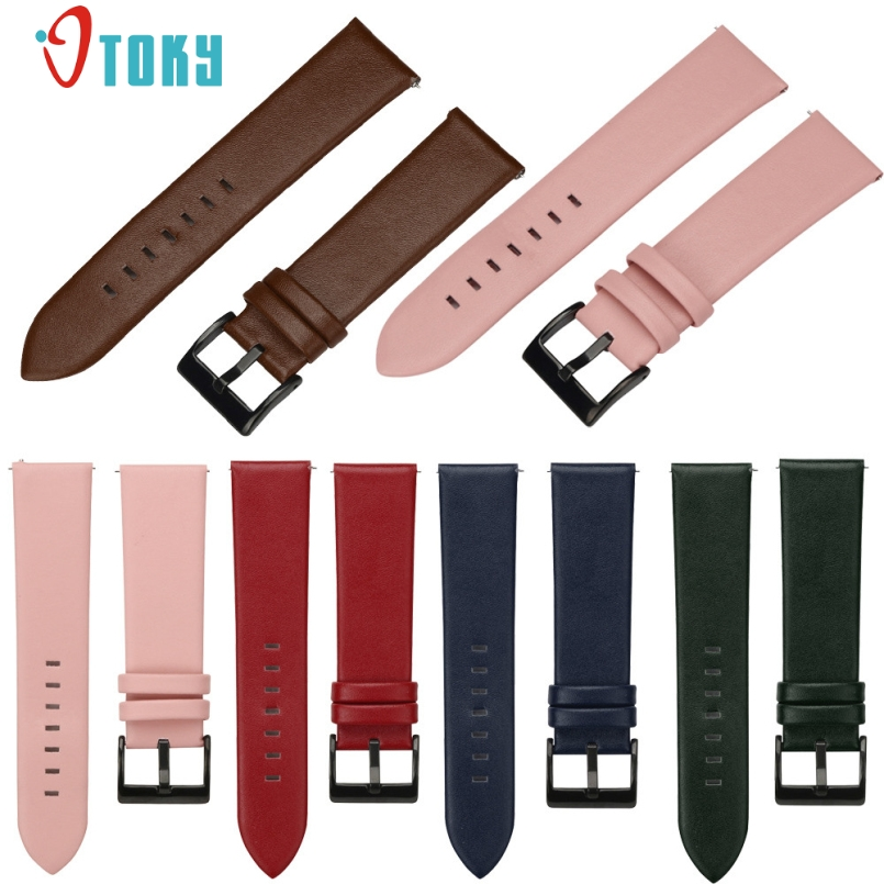 Excellent Quality 2017 Replacement Leather Watch Bracelet Strap Band For Samsung Gear S3 Frontier Dropshipping Dec-29