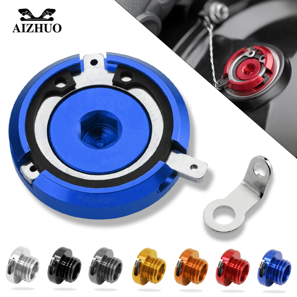 M20*2.5 Motorbike Engine Oil Filler Cup Cap Reservoir Cup For Yamaha MT09 FZ-09 2014-2015 TMAX500 2008-2017 TMAX-530 2001-2007