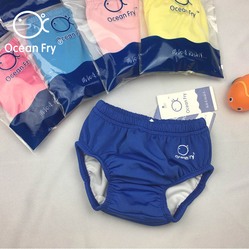 Leak Proof Diaper Baby Newborn Swimming Nappy Toddler Baby Swimwear Waterproof Reusable Diapers Infant Swim Pants Dropshipping