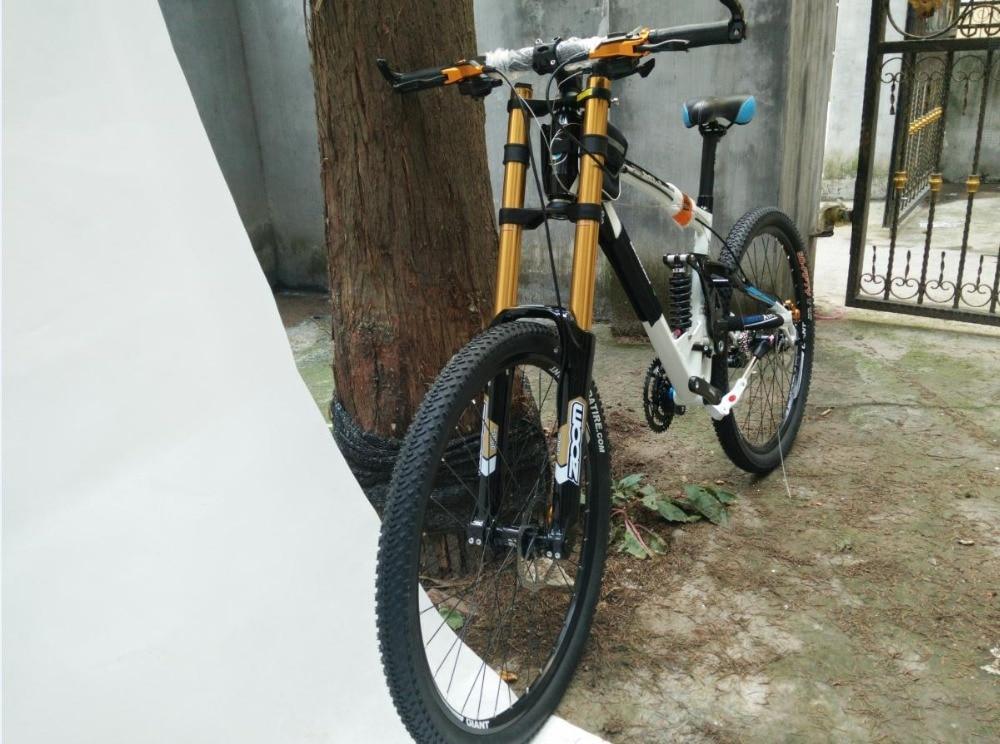 26er aluminium rahmen Heißer verkauf DH Downhill fahrrad 26*17 zoll ...