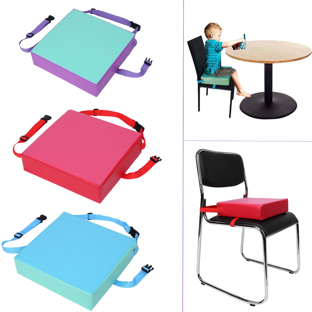 1pc Chair Seat Cushion Kids Increased Pad Dining Removable Kid Children Highchair