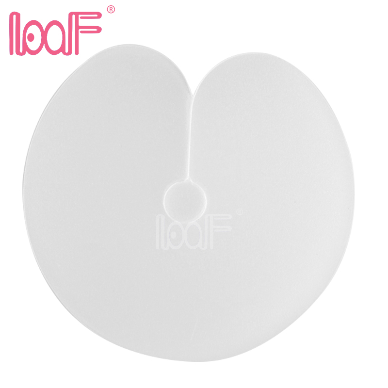 LOOF Wholesale 1000pcs Translucent Insulation Sheet Heat Shields Scalp Protector for Keratin Prebond Hair Extension Connecting