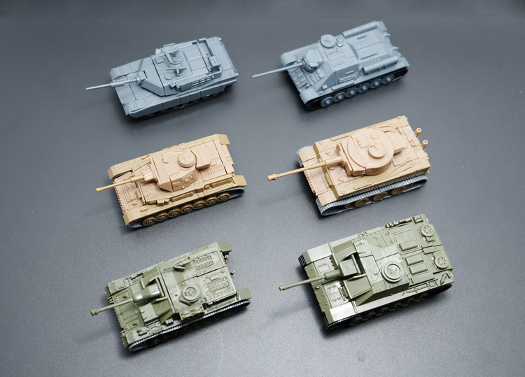 1pcs Sand Table Plastic Tiger Tanks World War Ii Germany Panther Tank Finished Model Toy Hot Sale Moderate Cost Diecasts & Toy Vehicles