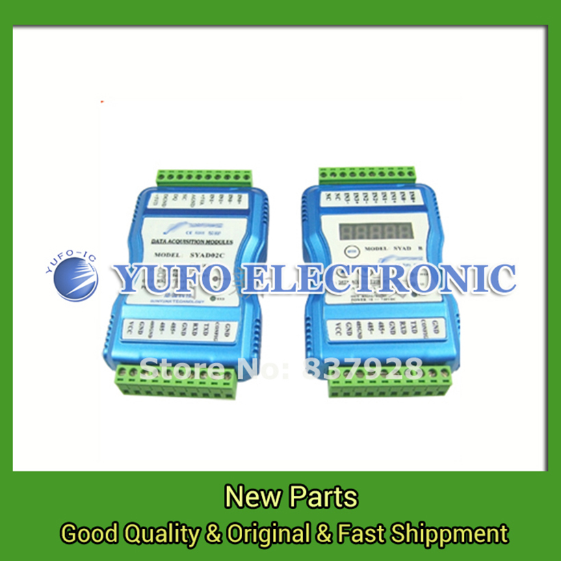 Free Shipping 1PCS ISO AD A08-485 data logger 8 isolated bus converter YF0617 free shipping 1pcs iso ad 02a u8 485 data acquisition 2 input channels isolated data acquisition module yf0617 relay