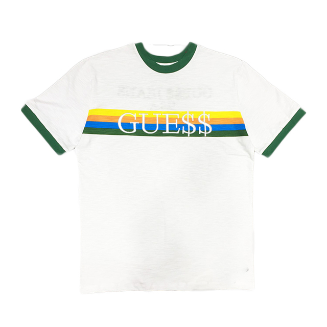 7f46381e9 A AP ASAP ROCKY GUESS T shirts Men Hip Hop Brand Kanye West Swag Men Tee  Shirts Embroidery Streetwear Tshirts QT0092-5