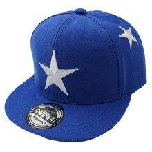 Embroidered Star Children's Snapback Cap