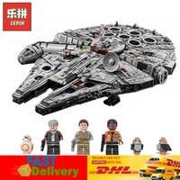 Lepin 05132 8445pcs Star Wars Star Destroyer Millennium Falcon Starwars Bricks Blocks Toys Compatible LegoINGlys 75192