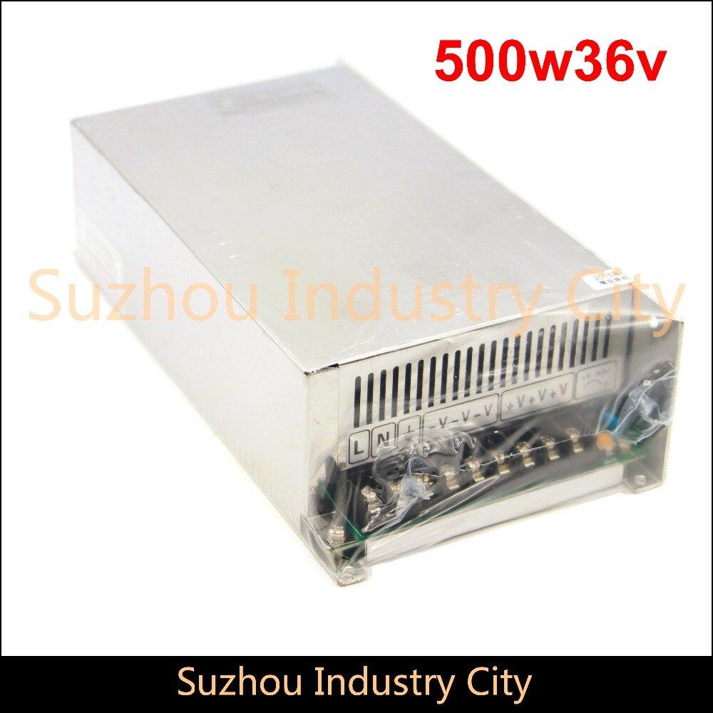 DC alimentation à découpage 110 V/220 V entrée 500 W sortie 36 V DC alimentation interrupteur alimentations! Haute Qualité!